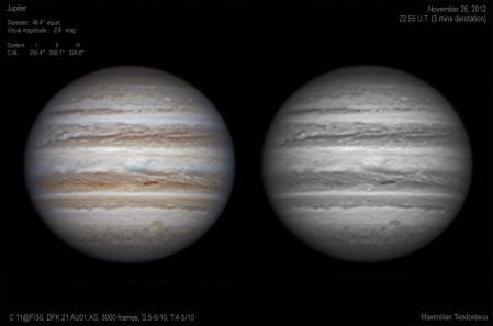 Jupiter November 26, 2012