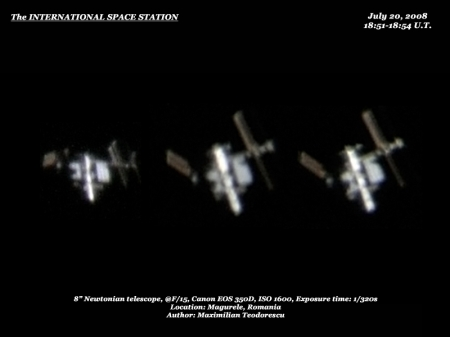 ISS July 20, 2008