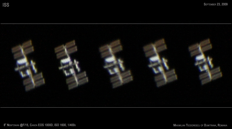 ISS Sept 23, 2009