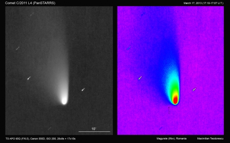 Comet PanSTARRS March 17, 2013_tails
