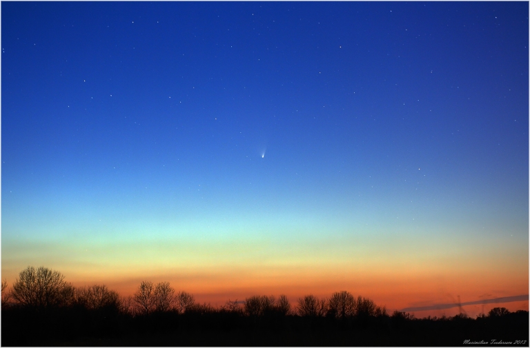 Comet PanSTARRS March 23, 2013