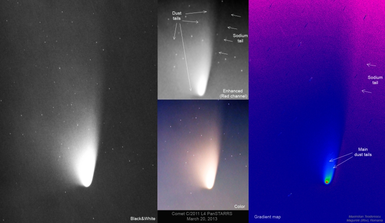Comet PanSTARRS_March20,2013_Sodium tail
