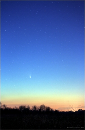 Cometa PanSTARRS March 23, 2013 b