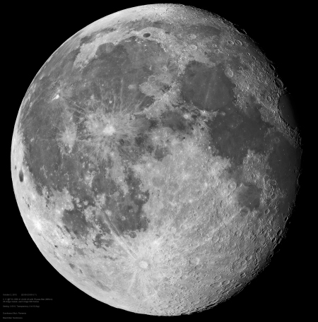 Large Moon Mosaic