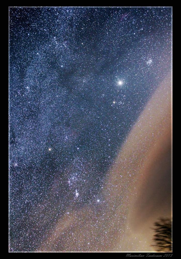 Orion si Jupiter
