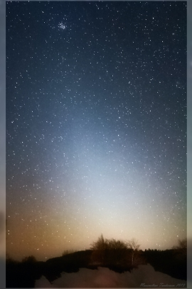 Zodiacal Light March 2013