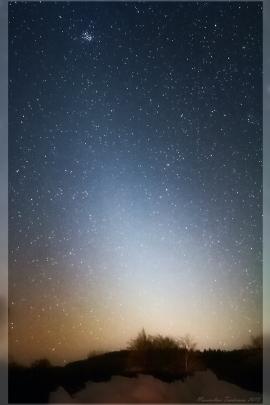 Zodiacal Light March 2013