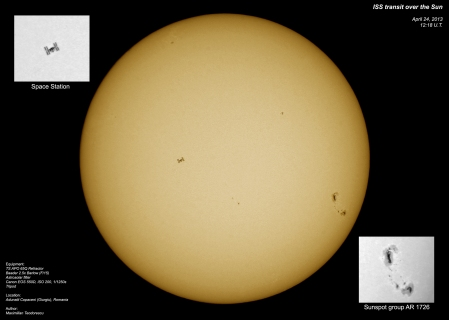 ISS transit over the Sun_Max