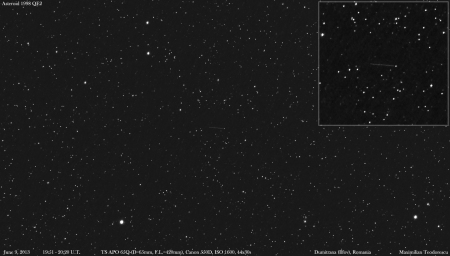 Asteroid 1998 qe2 June 9, 2013