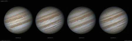 Jupiter in 2012