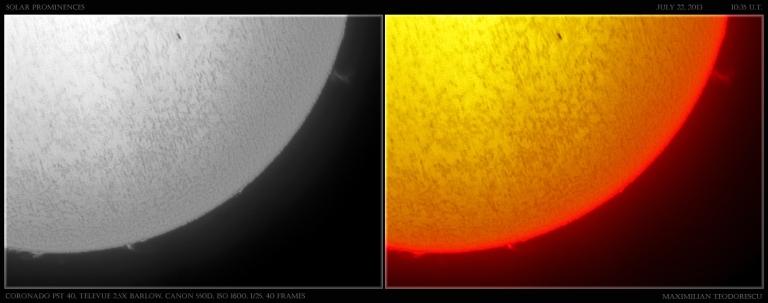 soare h alfa 22 iulie