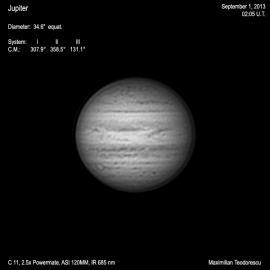 Jupiter September 1, 2013