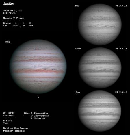 Jupiter September 17, 2013