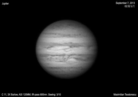 Jupiter September 7, 2013