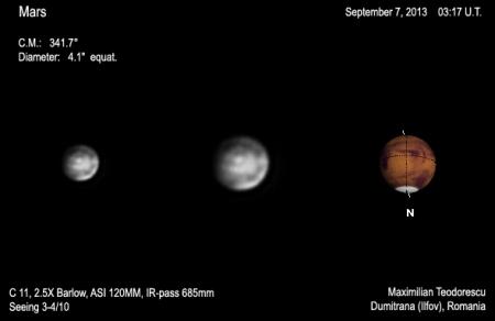 Mars September 7, 2013