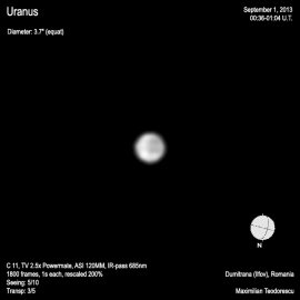 Uranus September 1, 2013