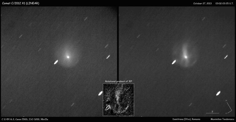 Comet X1 LINEAR Oct 27, 2013