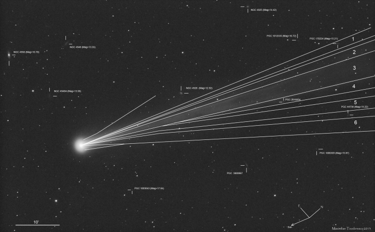Comet ISON bwDrawing Nov 16, 2013_Max