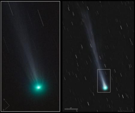 Comet ISON jets