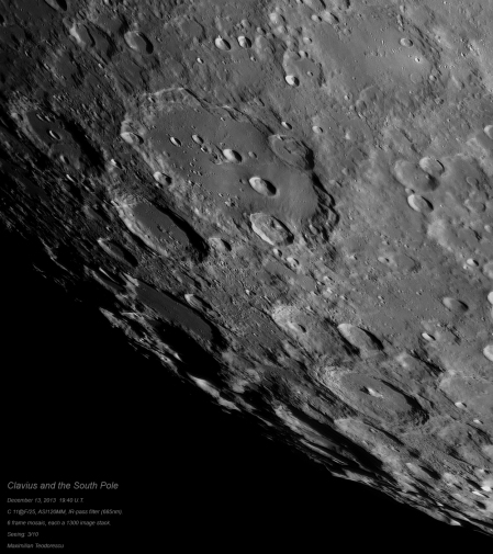 Clavius and the South Pole
