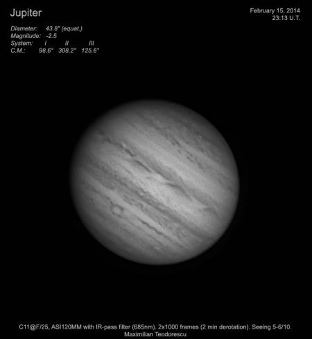 Jupiter February 15, 2014
