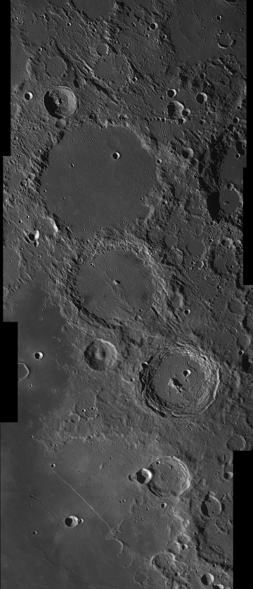A trio of craters