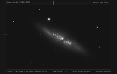 SN 2014J detail
