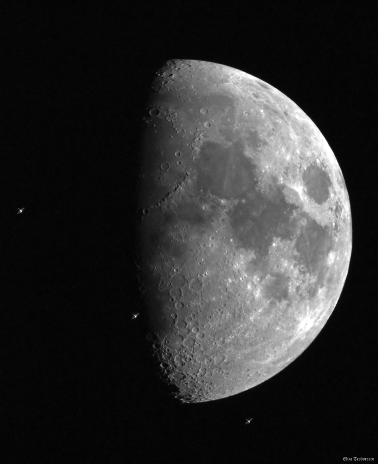 ISS and Moon EliT