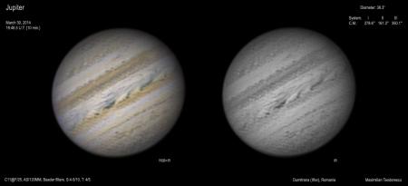 Jupiter March 30, 2014