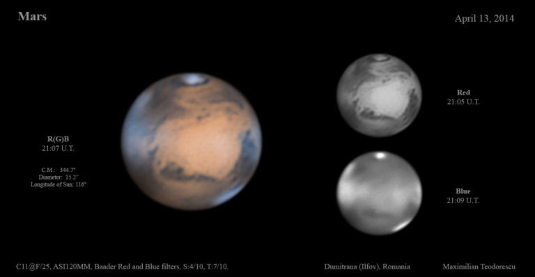 Mars April 13, 2014