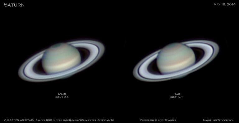 Saturn May 19, 2014