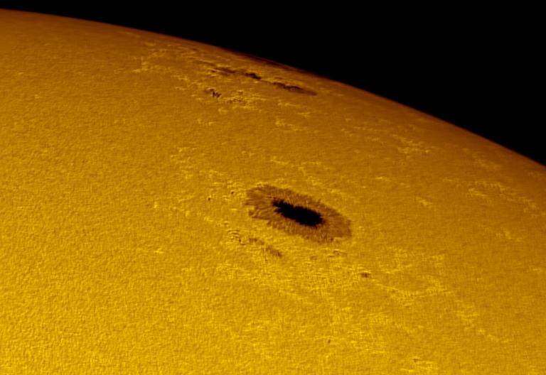 Departing sunspots 1