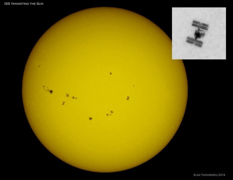 ISS transit ElizaT