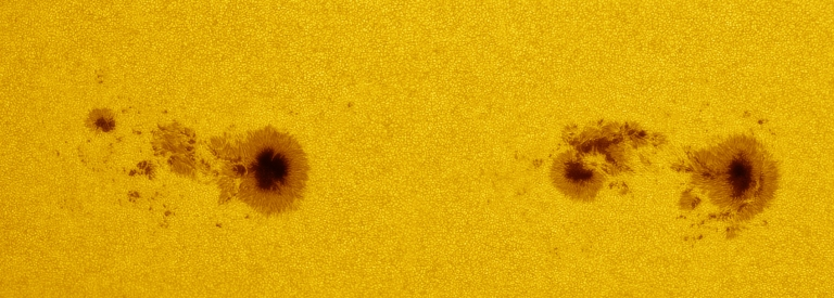 Sunspots of July 7