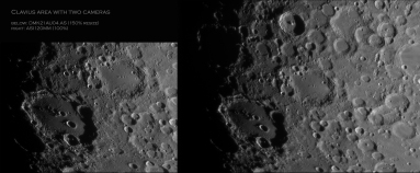 clavius with two cameras