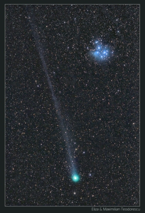 Comet Lovejoy and M45