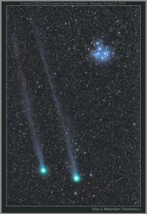 Comet Q2 16 and 17