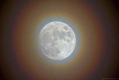Moon corona