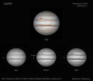 Jupiter Febr 26, 2015
