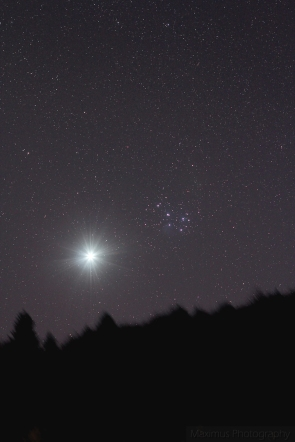 venus and m45 100mm