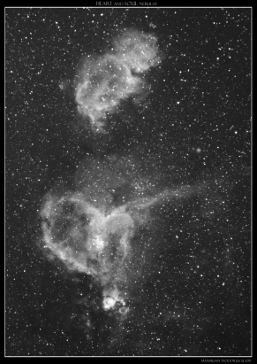 heart and soul nebulas BW.jpg